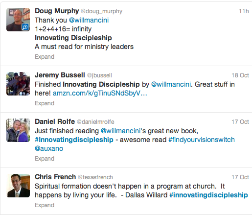 Innovating Discipleship on Twitter