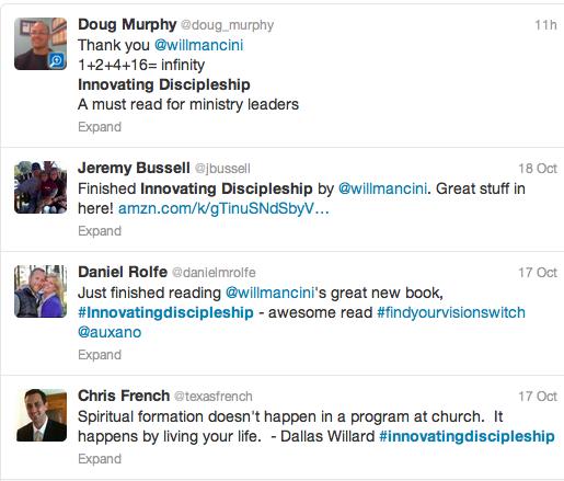Innovating Discipleship on Twitter