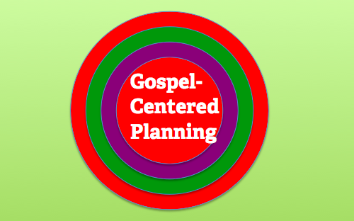 Will Mancini's Gospel Centered Church vision and planning