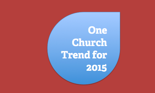 Church trends 2015 by Will Mancini